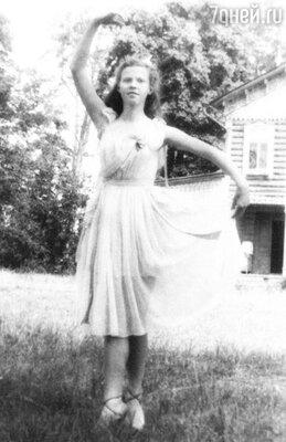 «Танцевать я любила с детства»