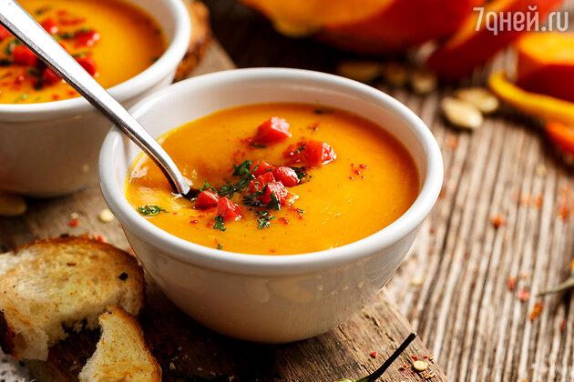 Тыквенный крем-суп от  Марии Луговой
