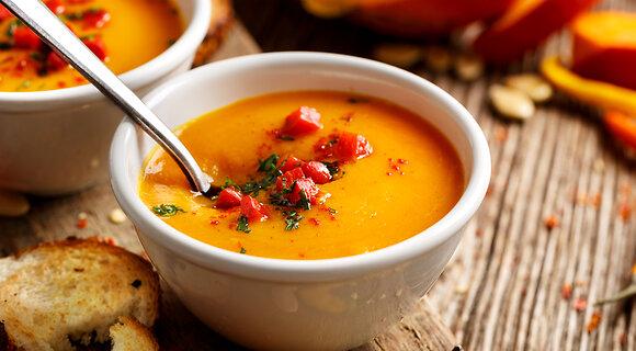Тыквенный крем-суп: рецепт от актрисы Марии Луговой