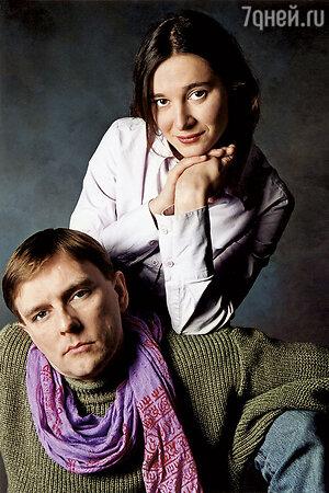 Полина Каманина и Алексей Нилов
