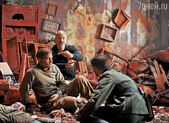 Съемочный момент фильма «Сталинград»