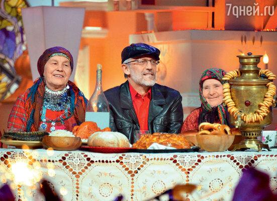 Александр Гордон и «Бурановские бабушки» использовали реквизит по назначению