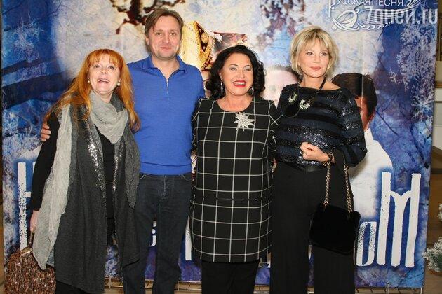 Клара Новикова, Артем Михалков, Надежда Бабкина и Татьяна Веденеева