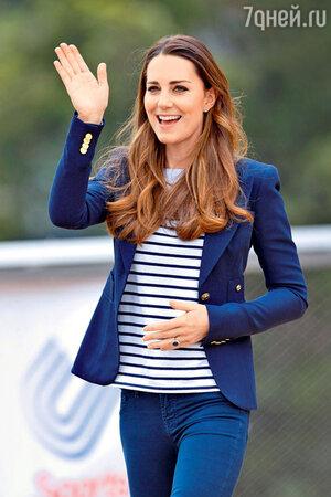 Кейт Миддлтон. Олимпийский парк имени королевы Елизаветы II. Лондон, 2013 год