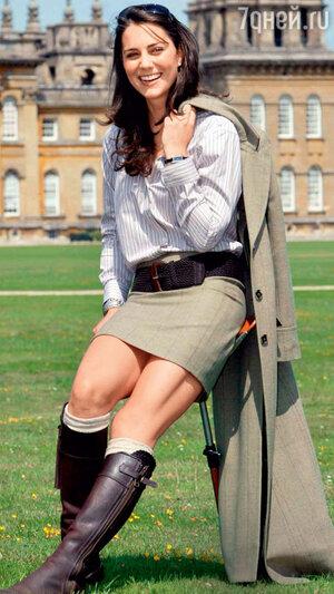 Кейт Миддлтон в  Оксфорде. 2004 год