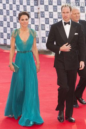 Кейт Миддлтон  с супругом. Олимпийский бал в Альберт-Холле. 2012 год