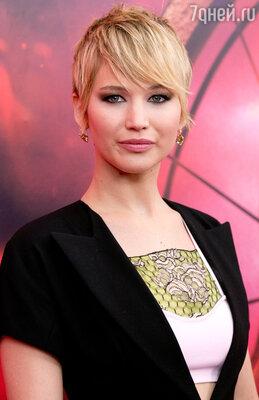 Дженнифер Лоуренс удостоилась премии «Оскар» в номинации «Лучшая женская роль»