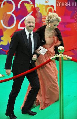 Федор Бондарчук с супругой Светланой