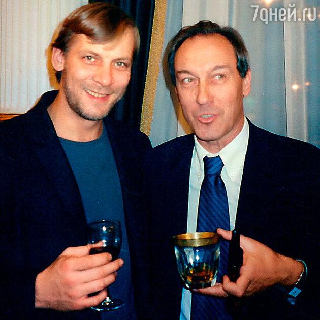 Олег Янковский с  Виктором Раковым