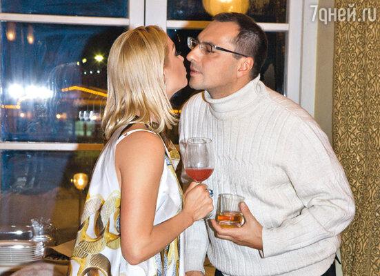 С бывшим мужем Игорем Вдовиным