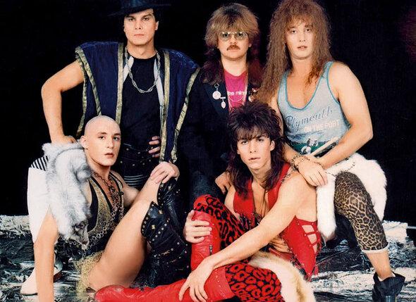Легендарная рок-группа «Интеграл». Я слева во втором ряду