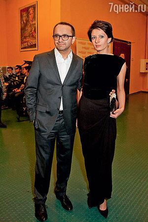 Андрей Звягинцев с женой Анной