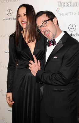 Дэвид Аркетт сделал предложение Кристине Макларти только через два месяца после рождения их первого ребенка...