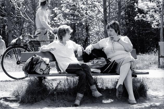 Татьяна Лаврова и Галина Волчек