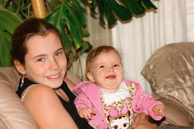 Внучки Татьяны Лавровой — Евгения и Аглая