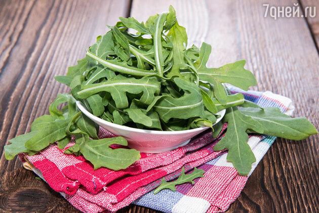 Островато-пряная руккола — кладезь витаминов