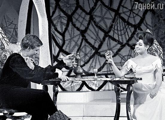 С Андрюшей в спектакле «Дон Жуан, или Любовь к геометрии»