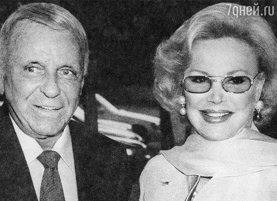 Фрэнк Синатра и Барбара Маркс, 1996 год