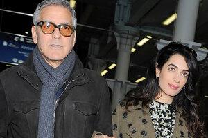 У Джорджа Клуни возникли разногласия с женой из-за близнецов