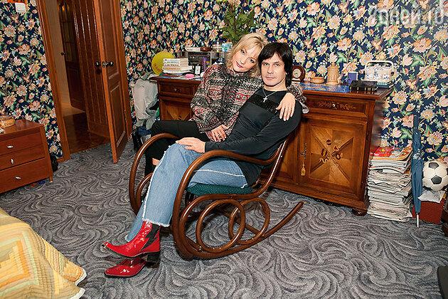 Татьяна Буланова с первым мужем