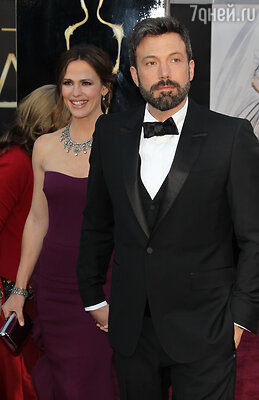 Бен Аффлек с супругой