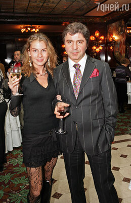 Сосо Павлиашвили с супругой Ириной