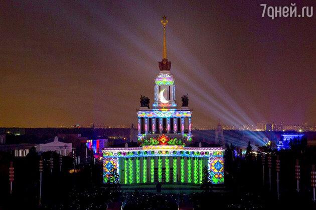 Фестиваль музыки и света на ВДНХ