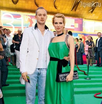 Олеся Судзиловская и ее жених Сергей