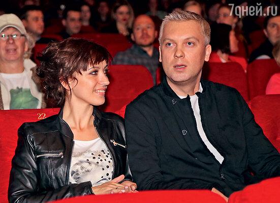 Сергей Светлаков с женой Антониной Чеботаревой