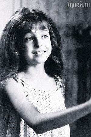 Анастасия Меськова в детстве