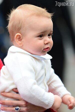 Принц Джордж в Новой Зеландии