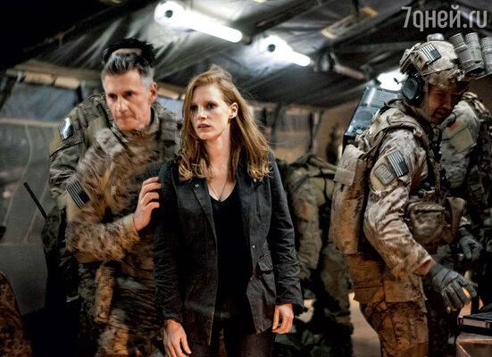 Джессика Честейн сыграла в «Цели номер один» агента, которая ловит бен Ладена