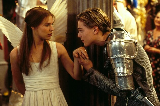 Кадр из фильма «Ромео и Джульетта»