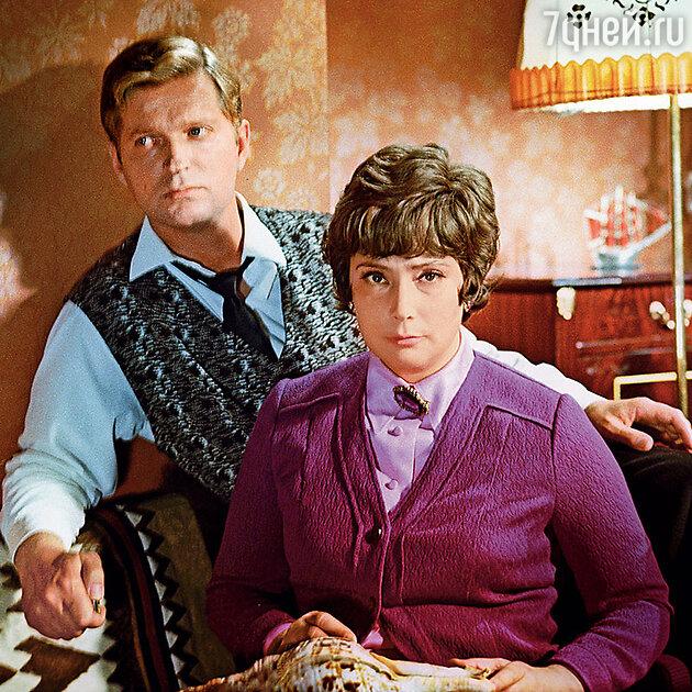 Татьяна Самойлова с  Виктором Речманом в фильме «Океан». 1973 г.