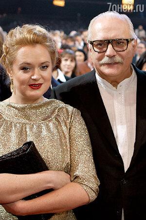 Никита Михалков с дочерью Анной