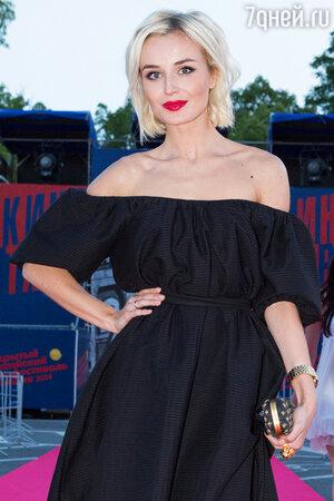 Полина Гагарина в платье от Laroom на фестивале «Кинотавр»