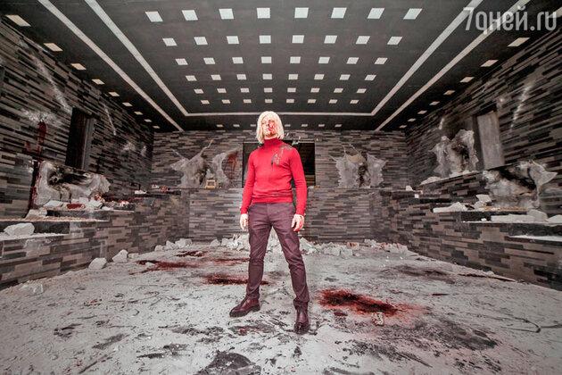 В «Хардкоре» Данила впервые примерил на себя образ злодея-альбиноса