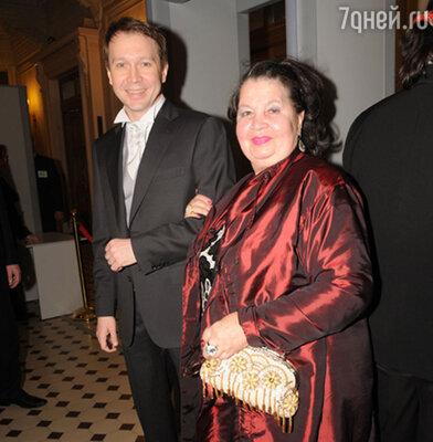 Евгений Миронов с мамой — Тамарой Петровной