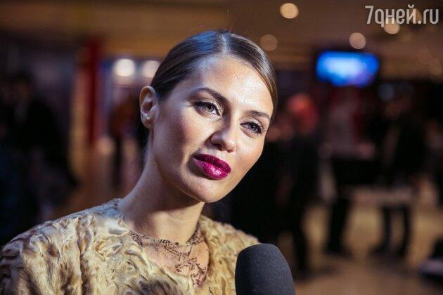 Виктория Боня на премьере фильма «Гонка» 2013