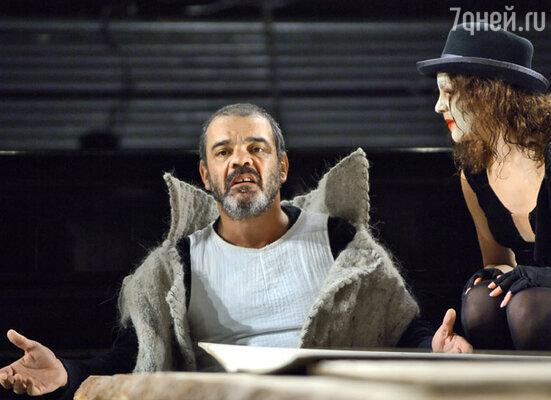 Константин Райкин в роли короля Лира в спектакле режиссера Юрия Бутусова «Король Лир»