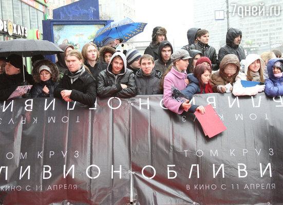 В Москве состоялась  премьера фильма «Обливион»
