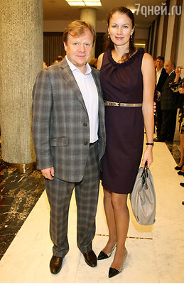 Игорь Бутман с супругой Оксаной