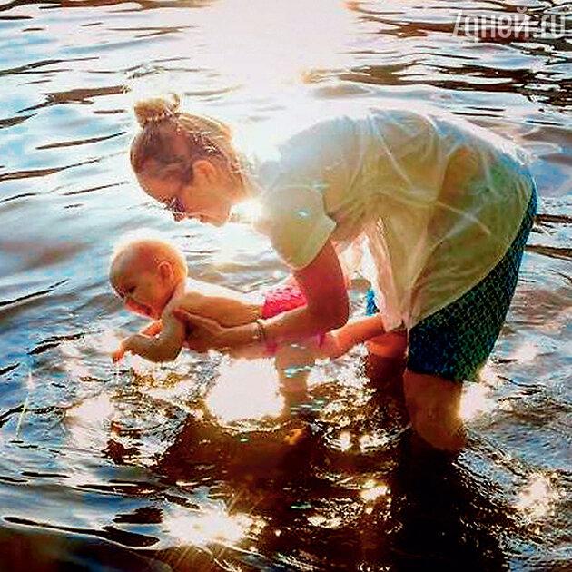 Зоя Бербер с дочерью