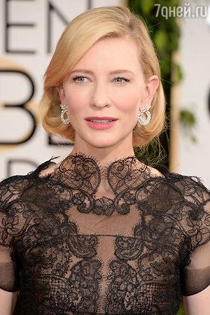 Кейт Бланшетт (Cate Blanchett) . 71-я церемония вручения премии «Золотой глобус»