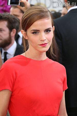 Эмма Уотсон (Emma Watson). 71-я церемония вручения премии «Золотой глобус»
