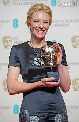 Лидером в категории «Лучшая актриса» стала Кейт Бланшетт за роль в картине «Жасмин»