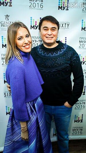 Ксения Собчак и Арман Давлетьяров