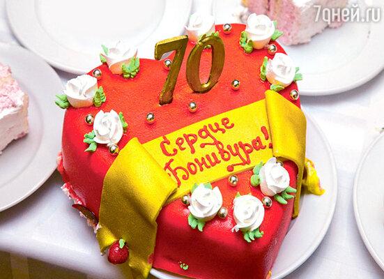 Торт для юбиляра