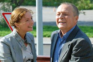 Борис Галкин спасает внучку