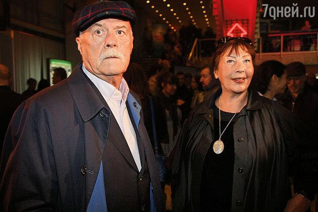 Станислав Говорухин с женой